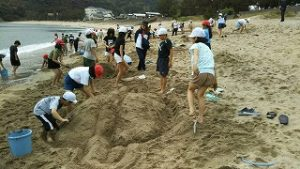 砂遊び サンドアート