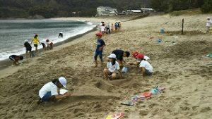 砂遊び サンドアート2