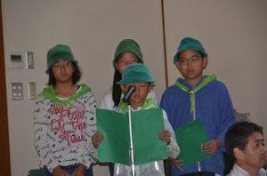 緑の少年団発表会