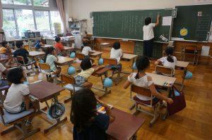 1年教室の写真