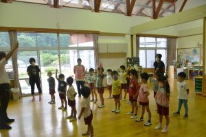 幼稚園終業式