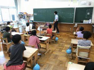 4年教室の写真