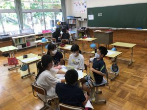 6年教室の写真