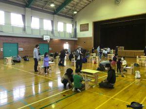 木製児童机づくり