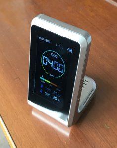 二酸化炭素濃度測定器